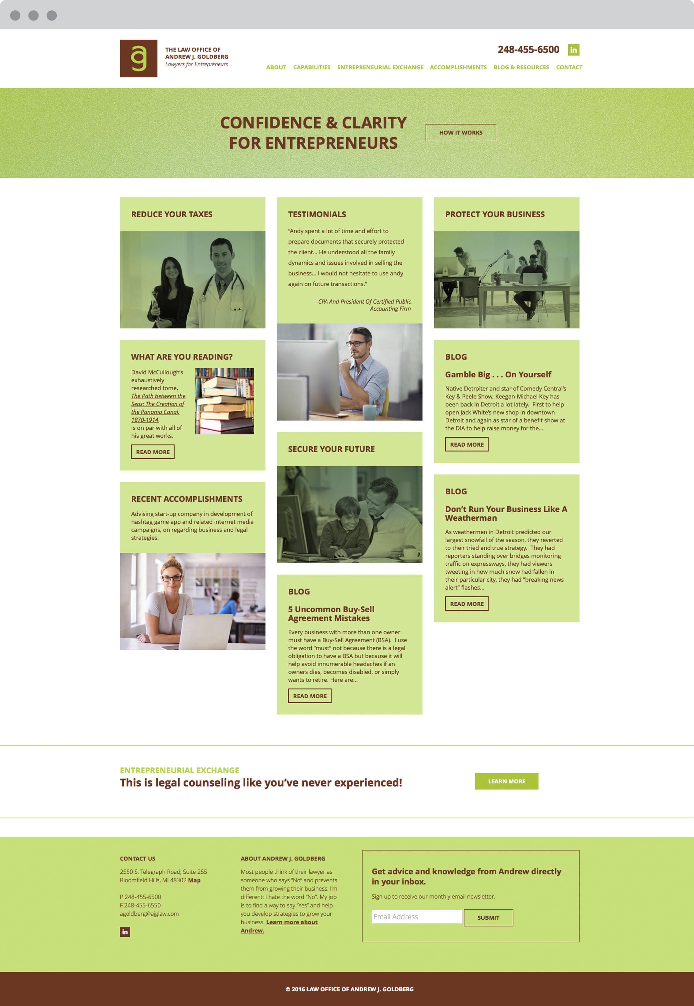 Law office website Design