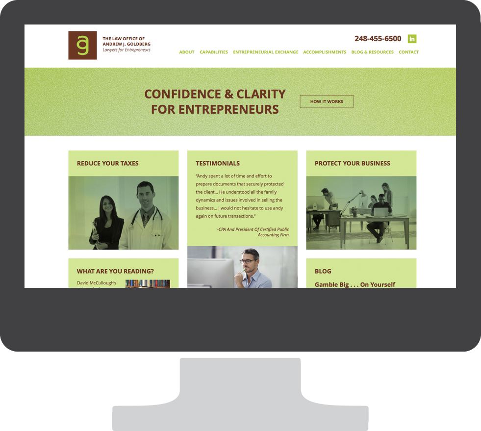 Law office Web Site design