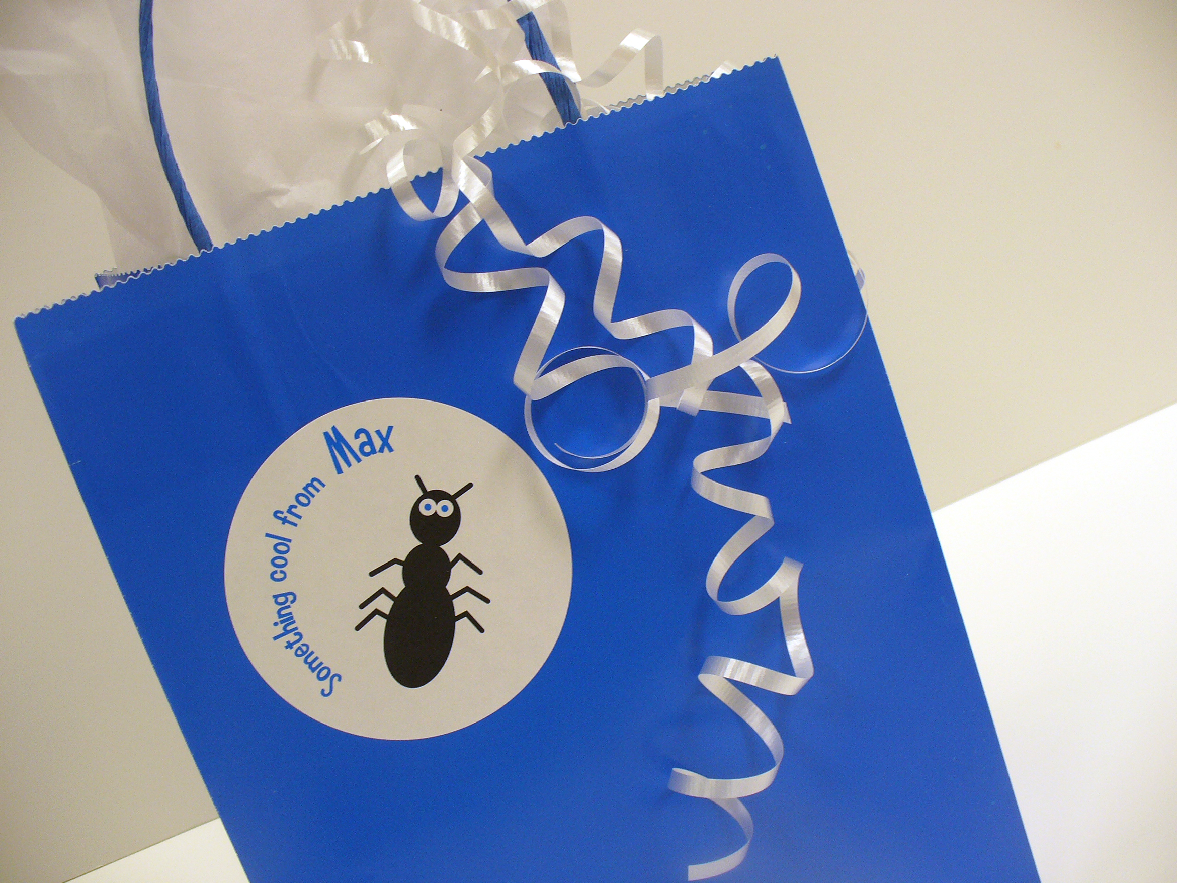 Personalized Gift Label Design