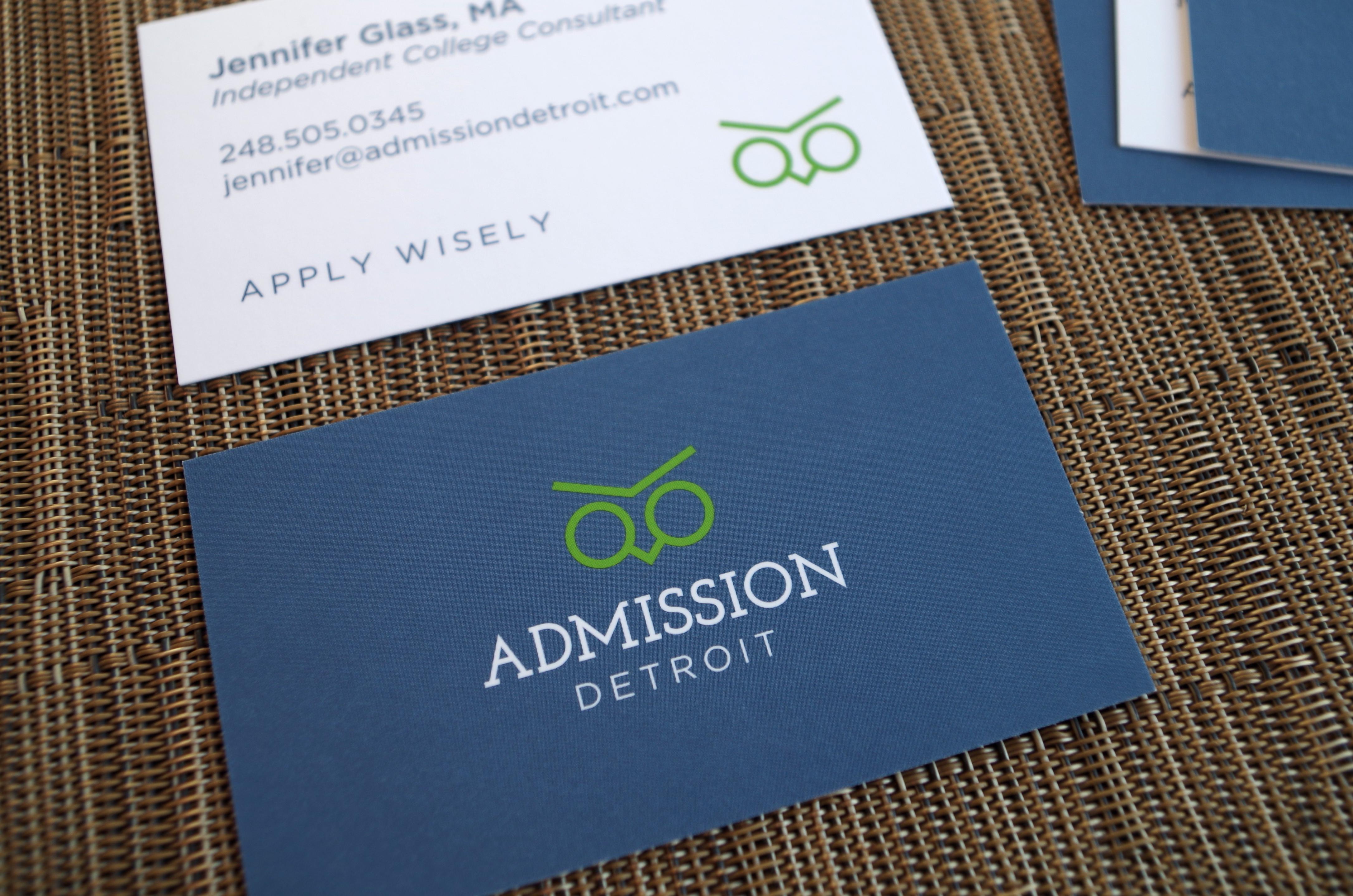 Admission Detroit Business Card